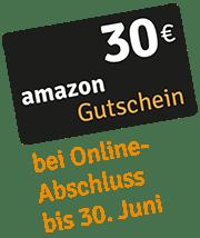 30 € Amazon-Gutschein bei Online-Abschluss