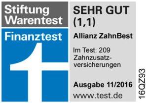 Zahnzusatzversicherung Test