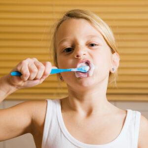 Richtig Zähne putzen