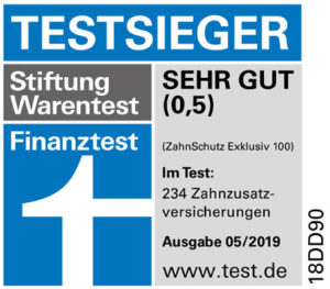 Zahnzusatzversicherung Testsieger Stiftung Warentest 2019