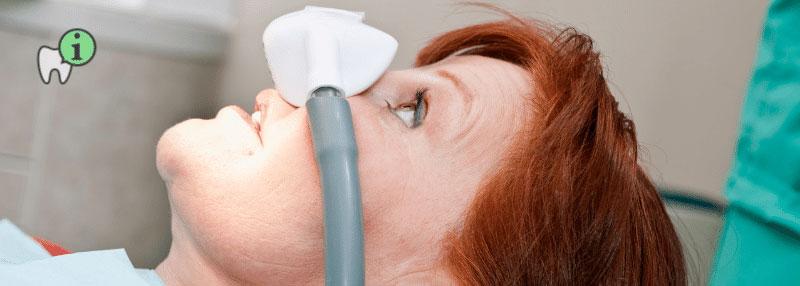 Zahnbehandlung unter Narkose mit Lachgas