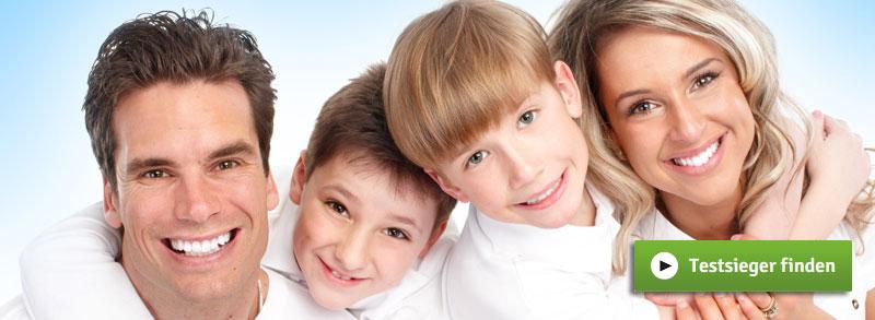 Zahnzusatzversicherungen für Familien