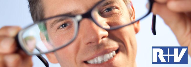 R+V Zahnzusatzversicherung mit Brille und Vorsorgeuntersuchung